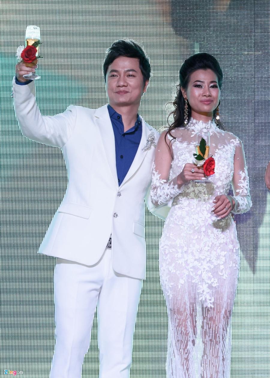 Quang Le, Thai Chau du tiec cuoi cua ca si Duy Truong hinh anh 8
