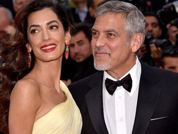 George Clooney đón cặp song sinh ở tuổi 60