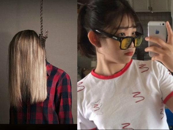 Con gái Choi Jin Sil gây sốc khi đăng ảnh treo cổ