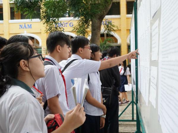 TP.HCM công bố điểm thi vào lớp 10