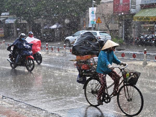 Dự báo thời tiết hôm nay (13.6): Mưa giông lớn trên diện rộng bao phủ toàn miền Bắc