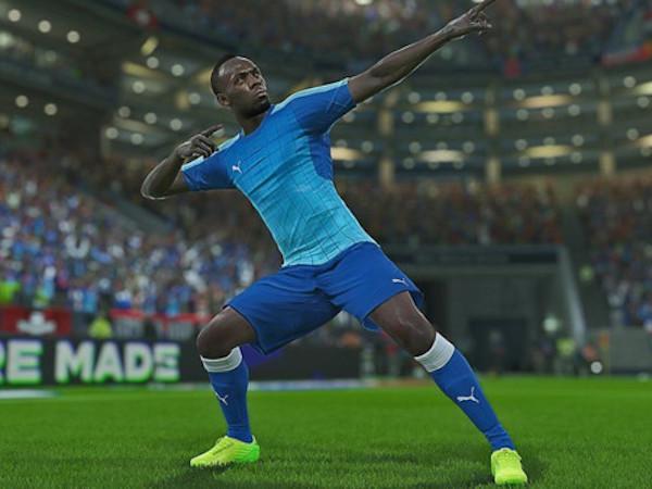 Usain Bolt thỏa ước nguyện làm cầu thủ bóng đá
