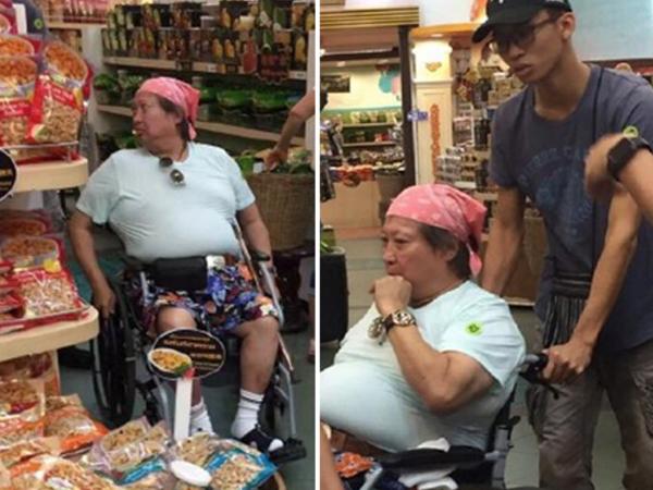 Sao võ thuật Hồng Kim Bảo phải ngồi xe lăn