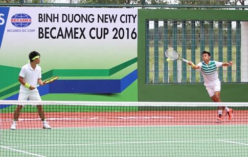 Lý Hoàng Nam thần tốc vào vòng 2 đơn nam giải quần vợt nhà nghề Thái Lan - ảnh 1