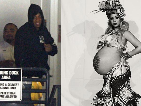 Chồng Beyonce mỉm cười hạnh phúc sau khi vợ đẻ sinh đôi