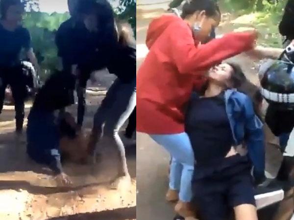 Vụ nữ sinh bị đánh hội đồng đến ngất xỉu: Nhiều đối tượng bỏ trốn