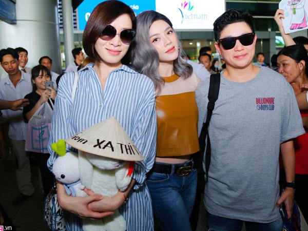 Ngôi sao TVB Xa Thi Mạn quay lại Việt Nam