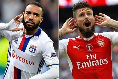 Lyon xac nhan dam phan voi Giroud, bao gia Lacazette cho Arsenal hinh anh