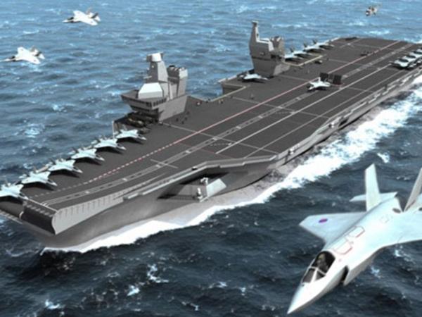 Sức mạnh của đối thủ có thể nhấn chìm tàu sân bay Kuznetsov khiến Nga vội đưa vào tầm ngắm