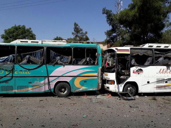 Thủ đô Syria suýt tan tành vì 3 xe bom