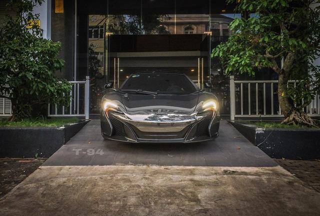 Cường Đô-la đổi màu sơn siêu xe McLaren 650S Spider từng thuộc của Minh Nhựa - Ảnh 2.