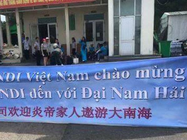 Du khách Trung Quốc gọi biển Việt Nam là