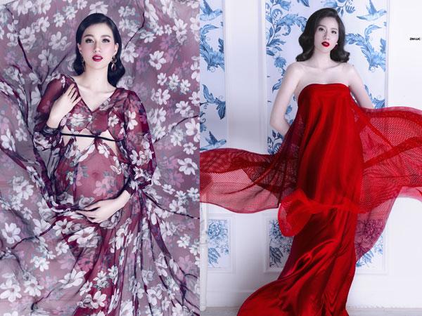 Người mẫu Thư Huyền mang thai lần hai, bụng bầu vượt mặt