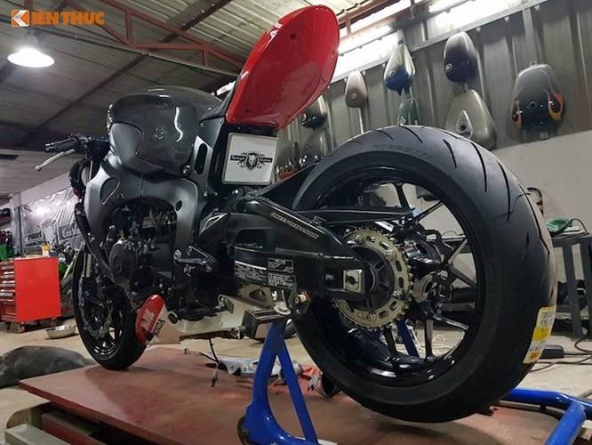 """Thợ Việt độ môtô Honda CBR1000RR """"chất như Tây"""" - 6"""