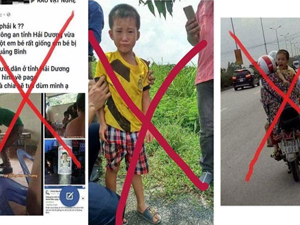 Bé trai mất tích ở Quảng Bình: Công an lên tiếng về thông tin bé xuất hiện với người lạ ở Hà Nội