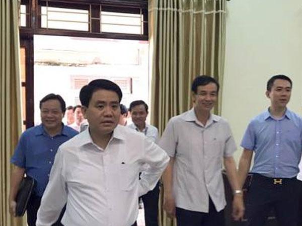 Đang công bố dự thảo kết quả thanh tra đất tại Đồng Tâm