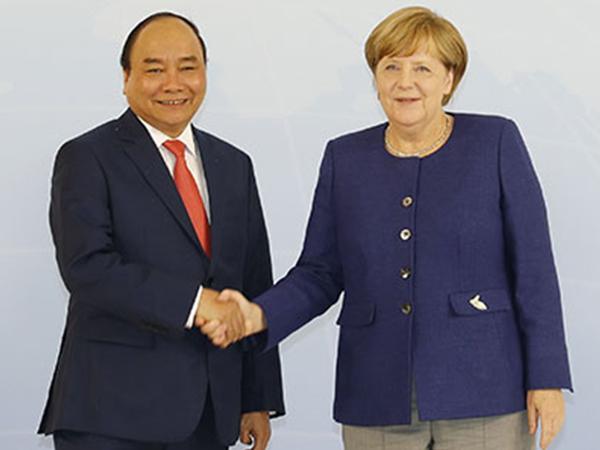 Thủ tướng Đức coi trọng vị thế của Việt Nam