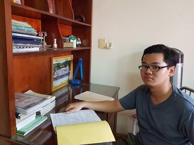 Thủ khoa Nguyễn Trung Duy Anh.