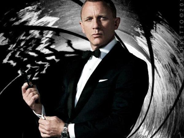 Daniel Craig tiếp tục đóng James Bond lần thứ năm