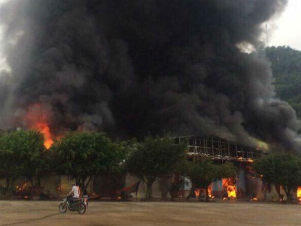 Thông tin mới nhất về vụ cháy chợ Sài Gòn – Tân Thanh tại Lạng Sơn