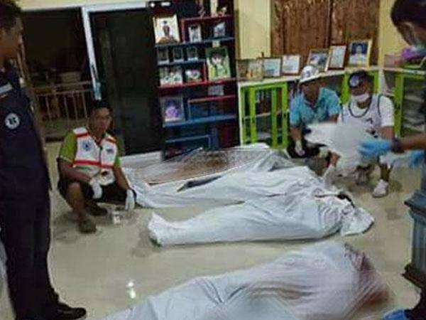 Tám người trong gia đình bị bắn chết tại chỗ