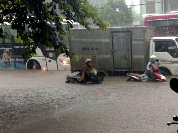 Dự báo thời tiết: Mưa to, vùng trũng Yên Bái, Phú Thọ có thể ngập sâu