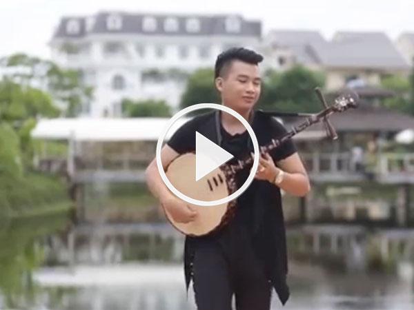 Clip: Chàng trai Việt cover Despacito bằng đàn nguyệt cực chất