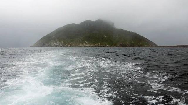 Hòn đảo Okinoshima. (Nguồn: AFP)