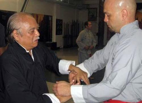 Đại sư Nam Anh và Francois Flores.