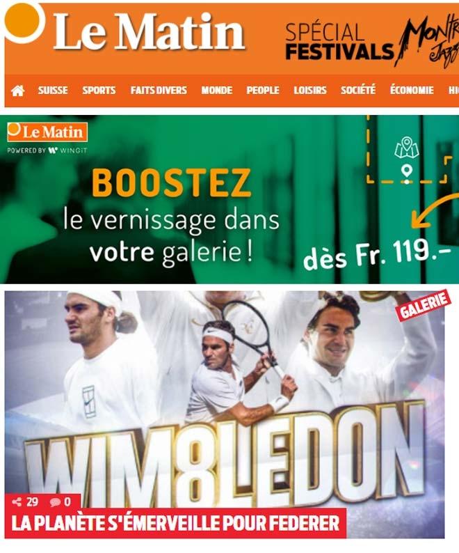 Báo chí thế giới: Cả hành tinh kinh ngạc về Federer - 3