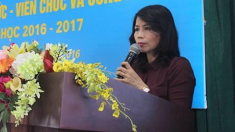 Phó chủ tịch quận Thanh Xuân,Lê Mai Trang