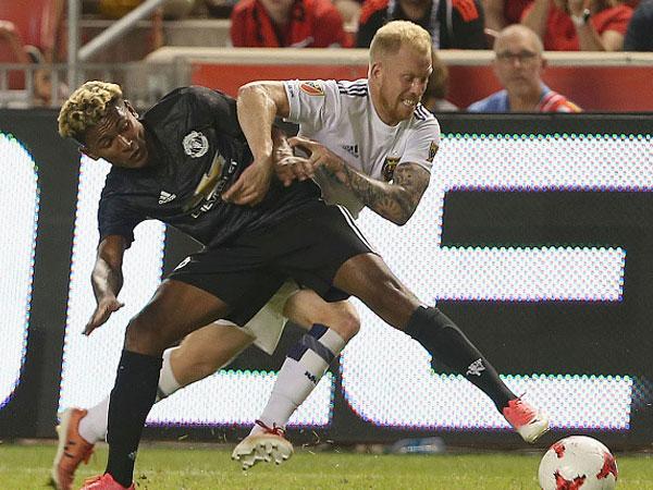 Lukaku ghi bàn đầu tiên, MU nhọc nhằn đánh bại Real Salt Lake