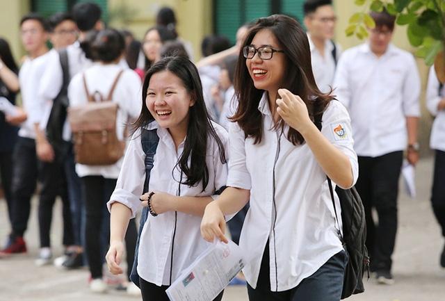 85% học sinh Hà Nội có khả năng hoàn thành nguyện vọng vào đại học. (Ảnh: Mai Châm)