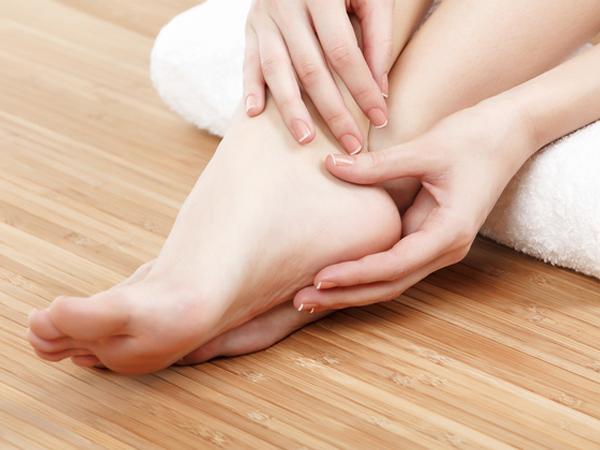 4 bước biến bàn chân