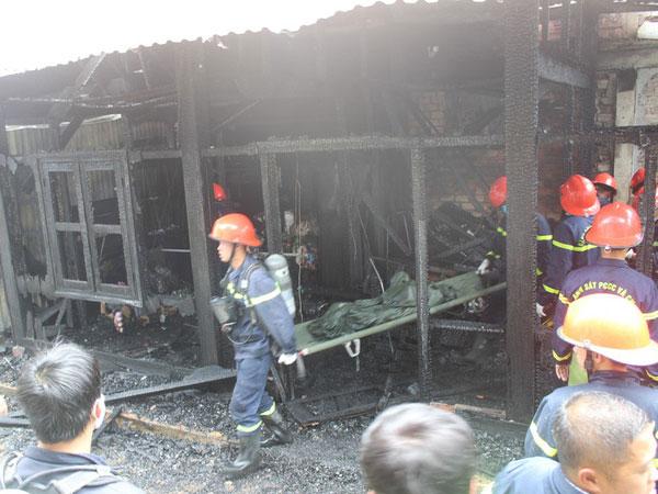 Hỏa hoạn ở trung tâm Đà Lạt, một cụ ông tử vong