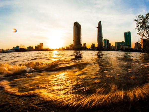 Bình minh, hoàng hôn khắp nẻo Sài Gòn
