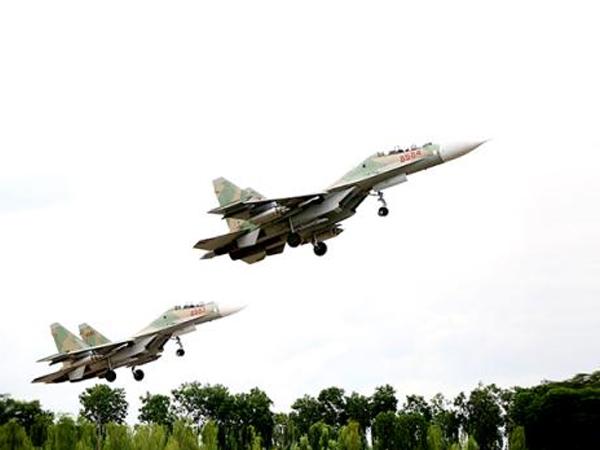 Su-30 Việt Nam tấn công chính xác tuyệt đối