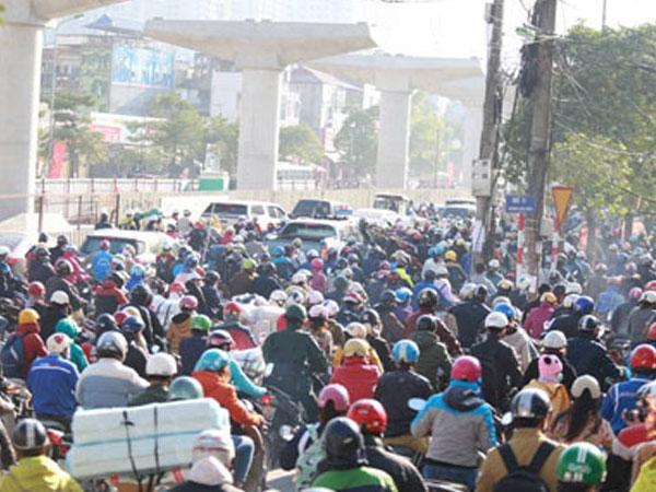 Ông Nguyễn Đức Chung: Hà Nội sẽ hạn chế chứ không cấm xe máy
