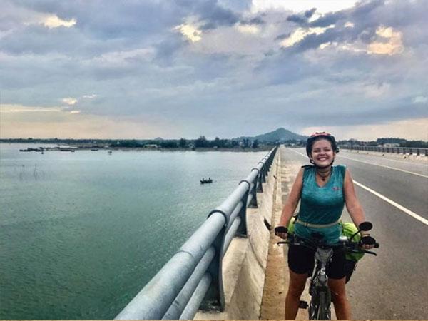 Nữ du khách bị mất trộm xe đạp: