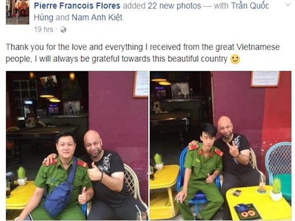 Võ sư Pierre Flores cảm ơn những người Việt Nam