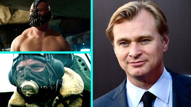 Vi sao Tom Hardy luon bi che mat trong phim cua Christopher Nolan? hinh anh 1
