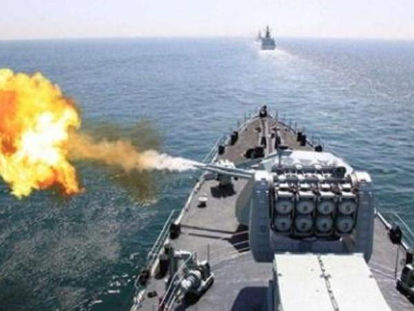 Hải quân Trung Quốc cấm biển để hoạt động quân sự