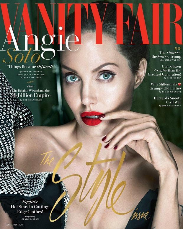 Angelina Jolie bị liệt cơ mặt, tăng huyết áp và chia sẻ về cuộc ly hôn với Brad Pitt - Ảnh 1.