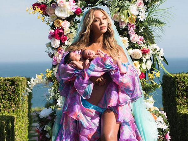 Beyonce thuê 6 bảo mẫu chăm sóc cặp song sinh