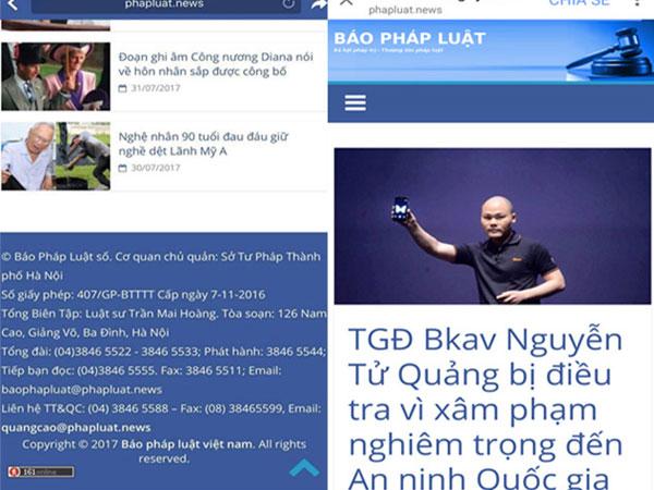 Sở Tư pháp Hà Nội họp khẩn vụ trang tin mạo danh đưa tin bịa đặt