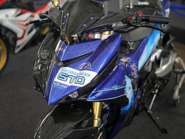 Chi tiết Exciter độ đẹp nhất trong cuộc thi độ xe Yamaha