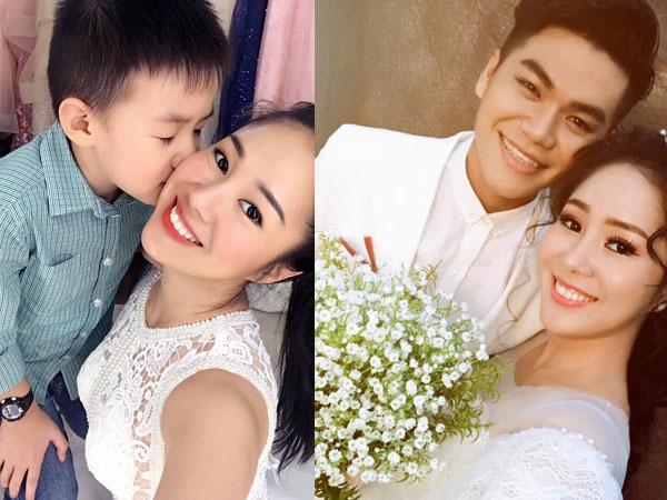 Lê Phương khẳng định tái hôn với chồng trẻ nhưng con trai vẫn là số 1
