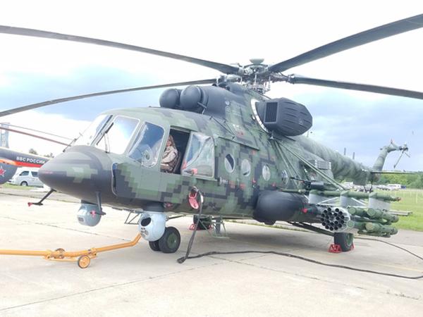 Mi-171Sh-VN là phiên bản trực thăng tấn công
