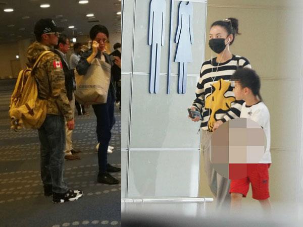 Tạ Đình Phong đưa Vương Phi đi Nhật du lịch, Bá Chi bận rộn chăm hai con