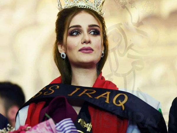 Hoa hậu Iraq bị tước vương miện vì đã kết hôn